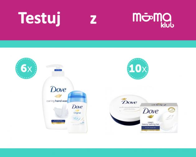 Testuj kosmetyki DOVE z mamaklub.pl