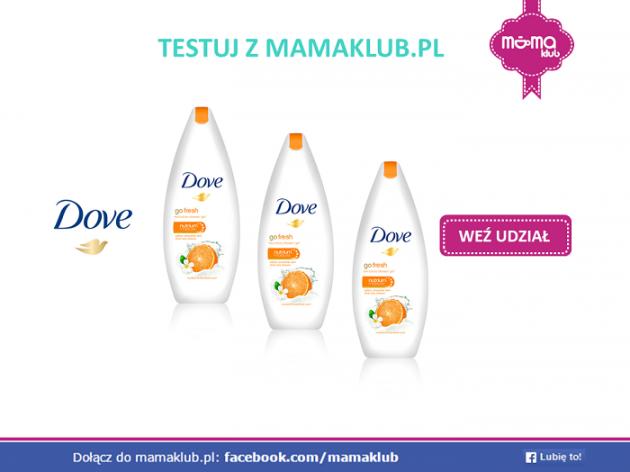 Testuj Dove Go Fresh z mamaklub.pl