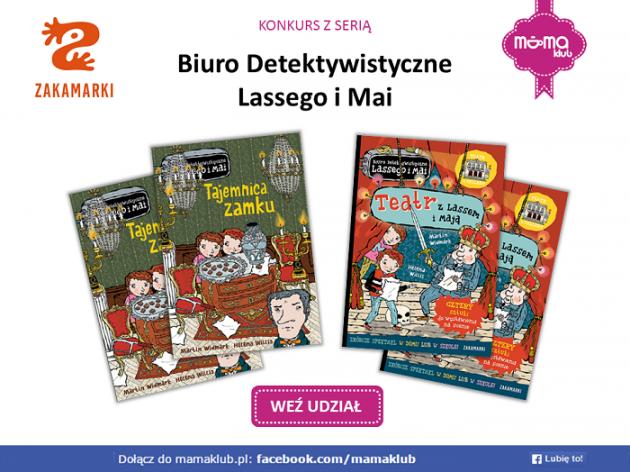 Konkurs z serią: Biuro Detektywistyczne Lassego i Mai