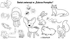 Żubr Pompik - zwierzęta