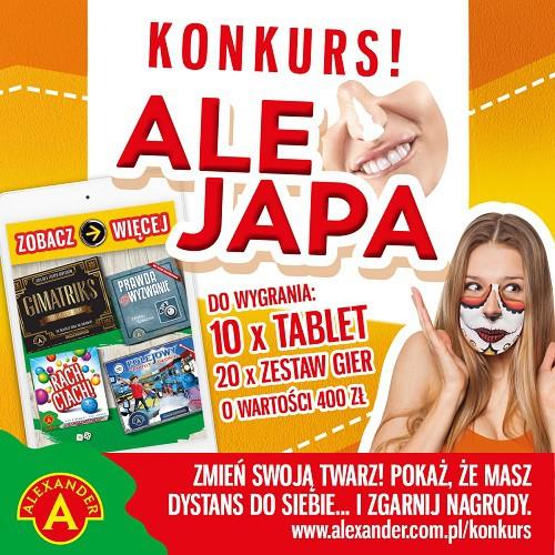 Konkurs z grą: Ale Japa