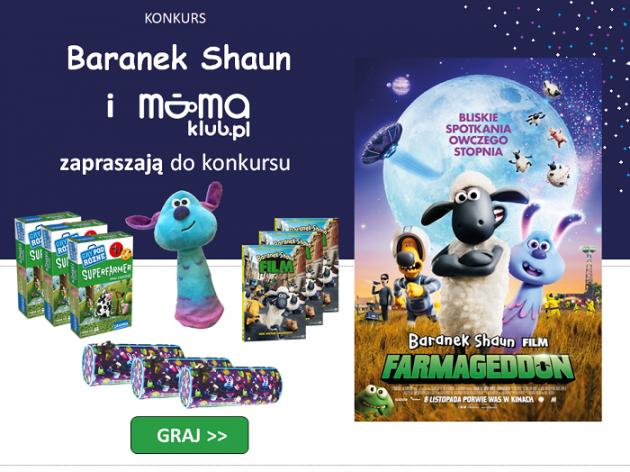 Konkurs z filmem: Baranek Shaun. Farmageddon