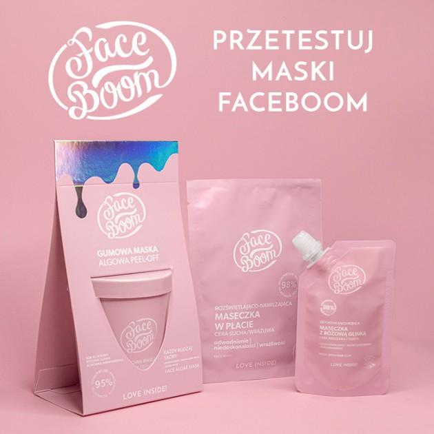 Testuj maski FaceBoom z mamaklub.pl