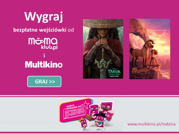 Wejściówki do Multikina od mamaklub.pl