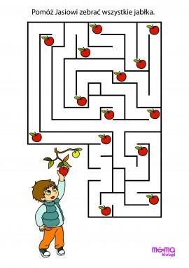 Jabłkowy labirynt